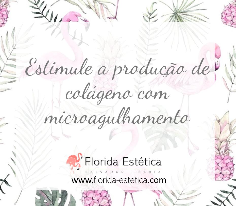 Estimule a produção de colágeno com microagulhamento